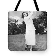 Babe Didrikson Golfing Tote Bag