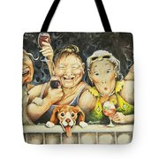 Babes N' Bitchies Tote Bag by Shelly Wilkerson