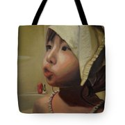 Baby Bath Mama Tote Bag
