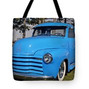 Baby Blue Chevy From 1950 Tote Bag