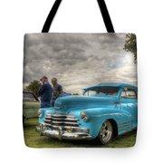 Baby Blue Fleetline Tote Bag