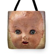 Baby Doll Face Tote Bag