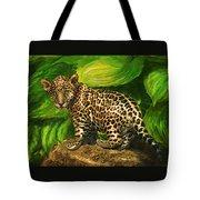 Baby Jaguar Tote Bag