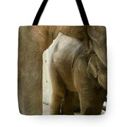 Baby Lily Elephant Tote Bag
