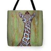 Baby Longneck Giraffe Tote Bag