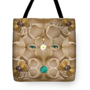 Baby Lord Ganesha Tote Bag