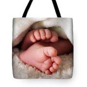 Baby Toes Tote Bag