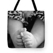 Baby Toes Tote Bag by Lisa Phillips