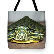 Baby Turtle Straight On Tote Bag