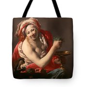 Bacchante With An Ape Tote Bag
