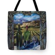 Bacchus Vineyard Tote Bag by Ricardo Chavez-Mendez