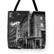 Bacco In Black And White Tote Bag