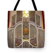 Bach Organ Leipzig Tote Bag