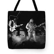 Bachman-turner Overdrive Smokin In Spokane 1976 Tote Bag