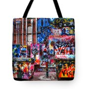 Back Alley Canvas Tote Bag