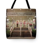 Back Door Of The Edgewater Packing Company Tote Bag
