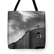 Back Entrance Arch San Xavier Del Bac Mission 1979 Tote Bag
