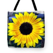 Back Forty Sunflower Tote Bag