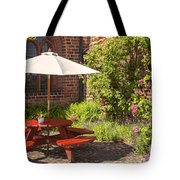 Back Garden  Tote Bag