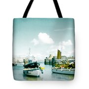 Back In The Olden Days Tote Bag