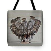 Back Kachina Eagle Tote Bag
