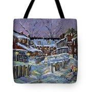 Back Lanes Buddies By Prankearts Tote Bag