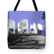 Back North Entrance #2 Of San Xavier Mission Tucson Arizona 1979-2013  Tote Bag