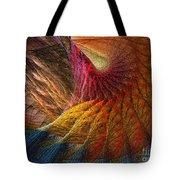 Back On Earth Abstract Art Print Tote Bag