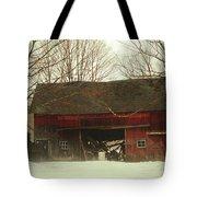Back Road Barn Tote Bag