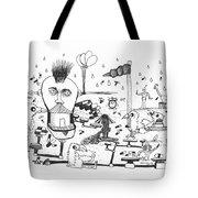 Back Rooms Of My Mind Door #13113 Tote Bag
