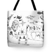 Back Rooms Of My Mind Door 25113 Tote Bag
