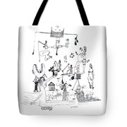 Back Rooms Of My Mind Door 301212 Tote Bag