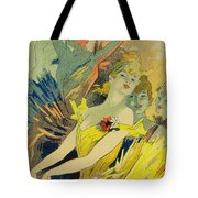Back-stage At The Opera Tote Bag by Jules Cheret