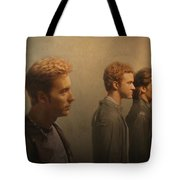 Back Stage With Nsync Tote Bag