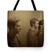 Back Stage With Nsync S Tote Bag