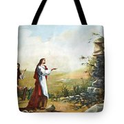 Back To Life Tote Bag