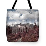 Back To Mountains Tote Bag