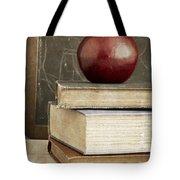 Back To School Apple For Teacher Tote Bag