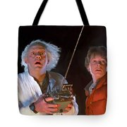 Back To The Future Tote Bag by Paul Tagliamonte