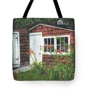 Back Yard Shed Tote Bag