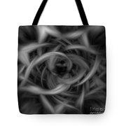 Background Flames Bw Dark Tote Bag