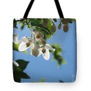 Backlit Blossom Tote Bag