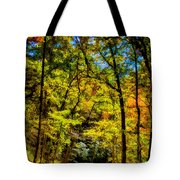 Backroads Of The Great Smoky Mountains National Park Tote Bag
