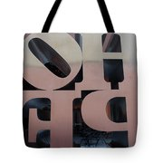 Backside Of Hope Tote Bag