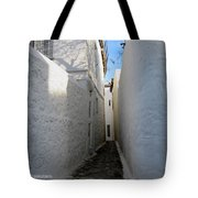 Backstreet In Hydra Tote Bag