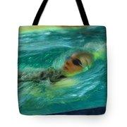 Backstroke Tote Bag