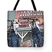Backwards Bluegrass Tote Bag