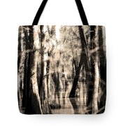 Backwater Cajun Country Tote Bag