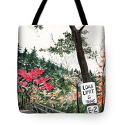 Backwoods Bridge Tote Bag