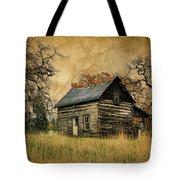 Backwoods Cabin Tote Bag by Steve McKinzie